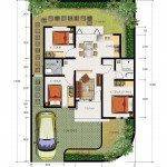 floor plan - type 60
