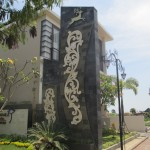 Gate Utama Kencana Nila Mansion -Renon