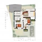 2nd floor plan - type 120
