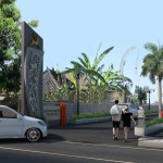 Gate Utama Kencana Jingga Residence